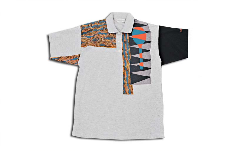 Archival Adidas French Non Sequitur Tennis Polo