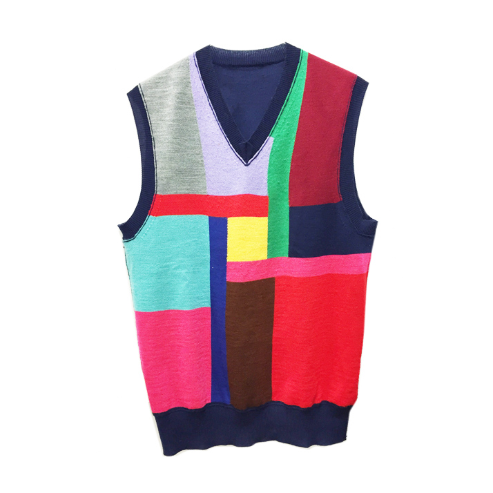 CDGColorblockedVest