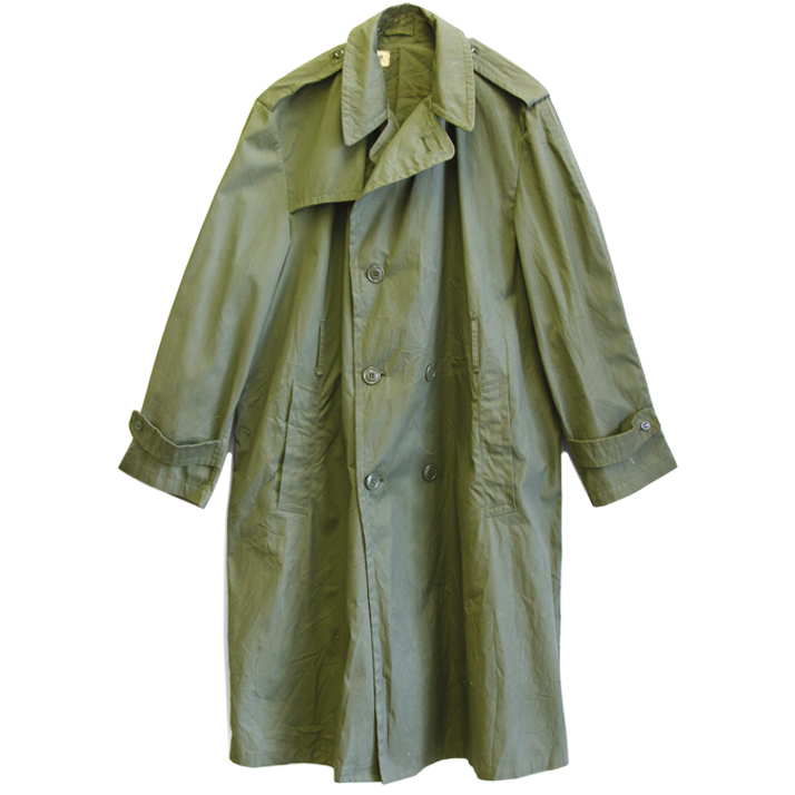 GreenTrenchCoat