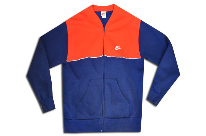 Archival Nike Heritage Color Blocked Zip Jacket Notes: Deadstock / Circa  1990 / Paneled Chest Detailing / Deep Blue Base Body with Contrasting  Pantone Red ...