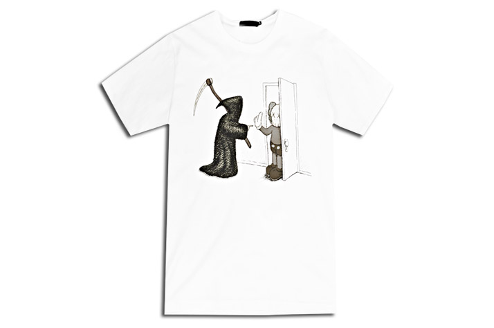"""c270cef508cc96 Original Fake """"Hold That Thought"""" Tee Notes  In Store Exclusive    Spring Summer 2013 Final Collection   Available in Black   White   Graphic  Featuring ..."""
