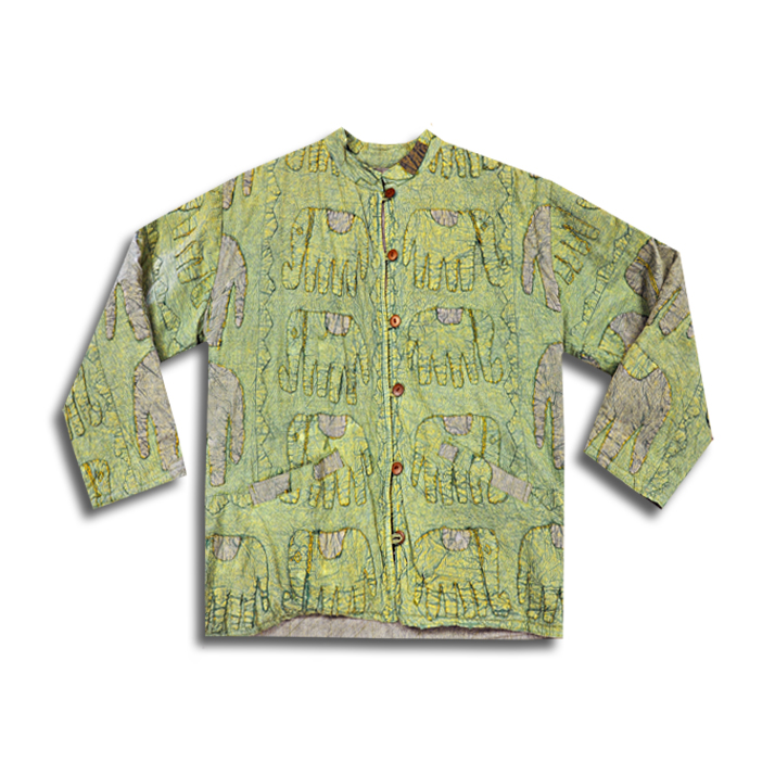 RegimentGreenTapestryJacket